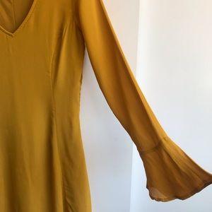 Dresses & Skirts - Boho Chartreuse Dress